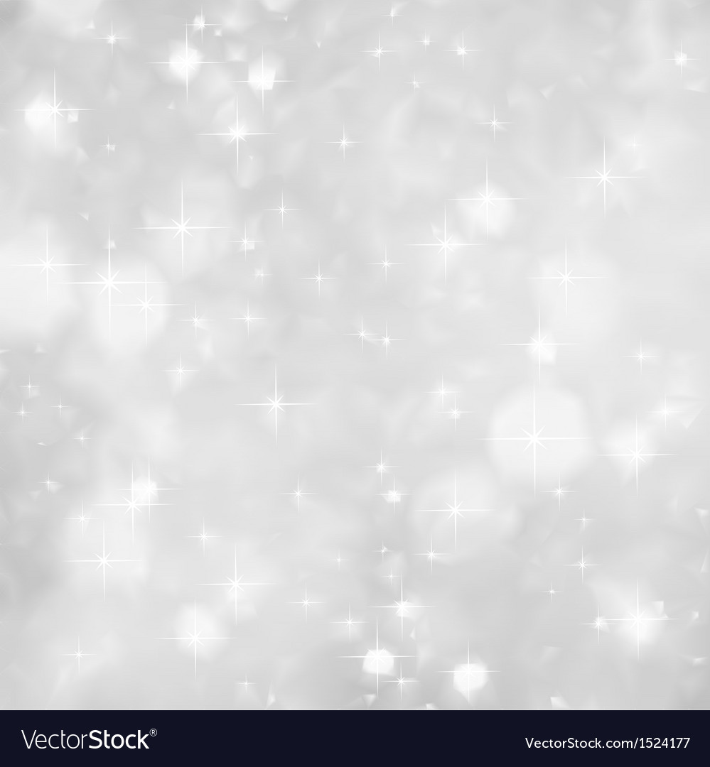 Silver sparkles background christmas vector | Price: 1 Credit (USD $1)