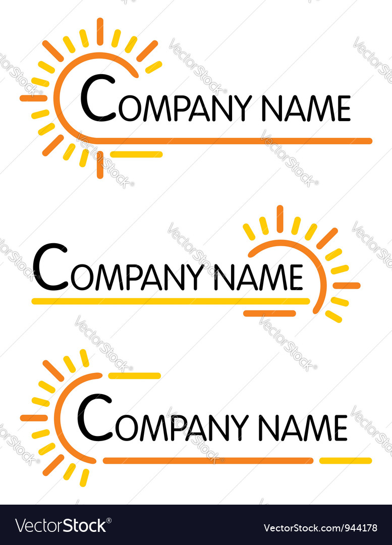 Corporate symbol templates vector | Price: 1 Credit (USD $1)