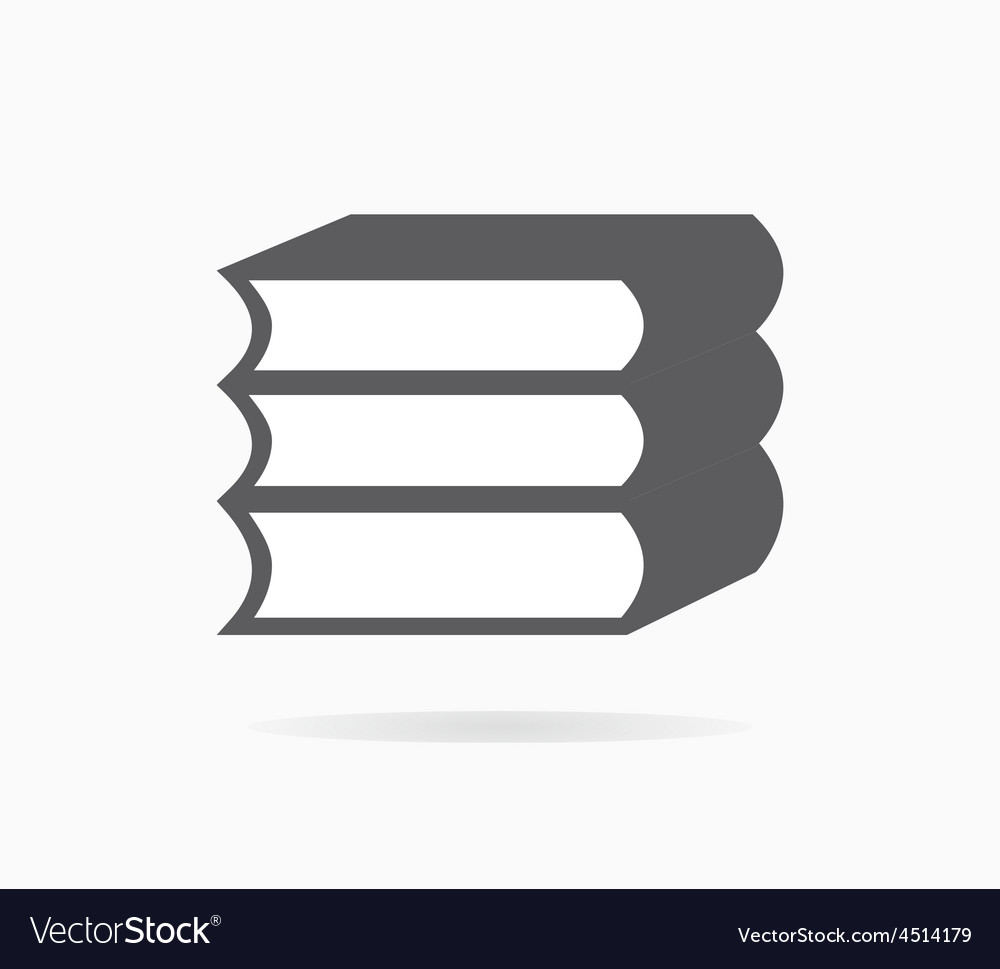 Book icon or logo vector | Price: 1 Credit (USD $1)