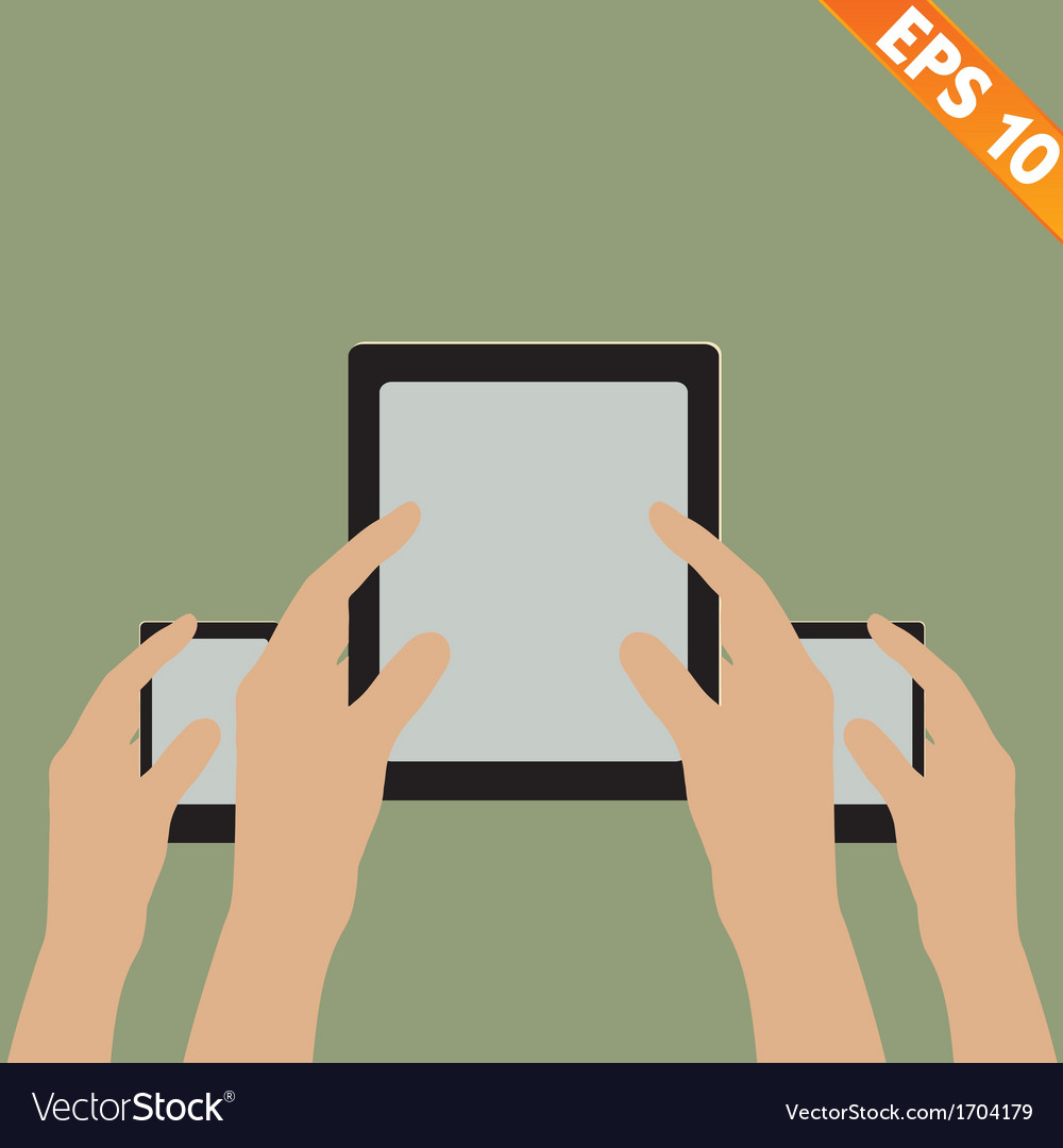 Bring your own device concept - - eps10 vector | Price: 1 Credit (USD $1)