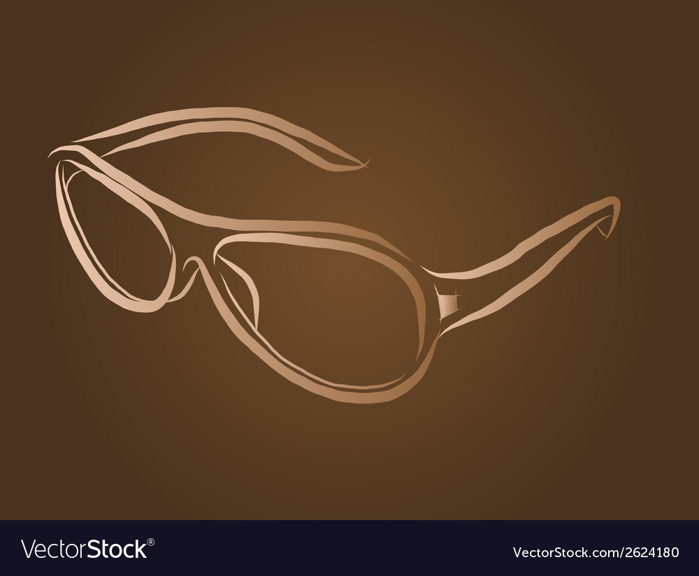 Eyeglasses vector | Price: 1 Credit (USD $1)