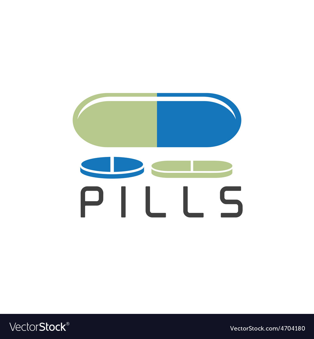 Pills design template vector | Price: 1 Credit (USD $1)