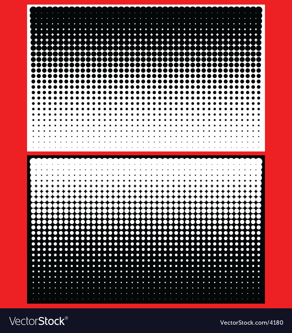 Yin yang halftone dots vector | Price: 1 Credit (USD $1)