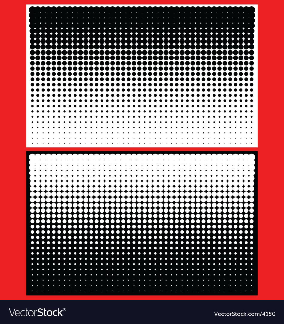 Yin yang halftone dots vector | Price: 1 Credit (USD $1)
