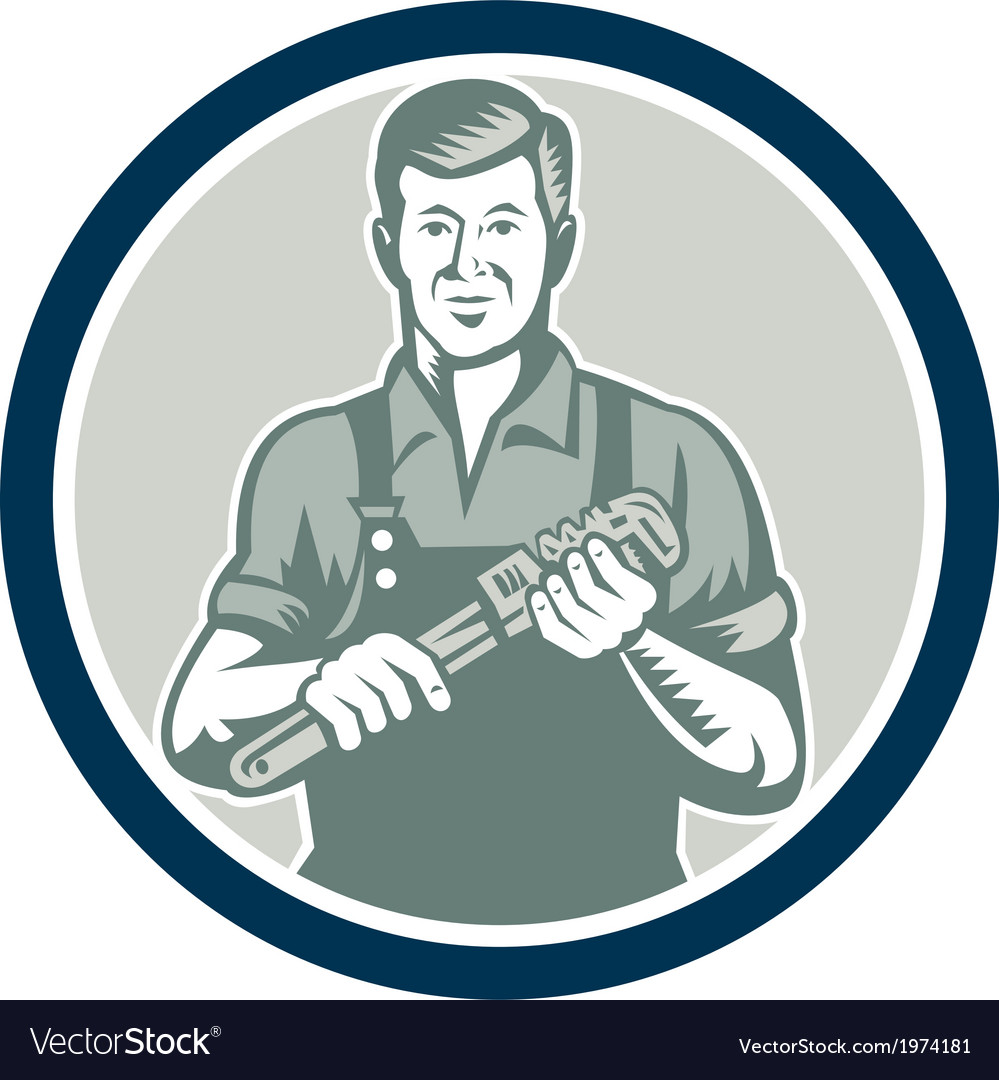 Chef cook holding spatula shield retro vector | Price: 1 Credit (USD $1)