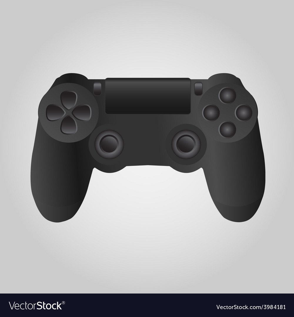 Game console vector | Price: 1 Credit (USD $1)