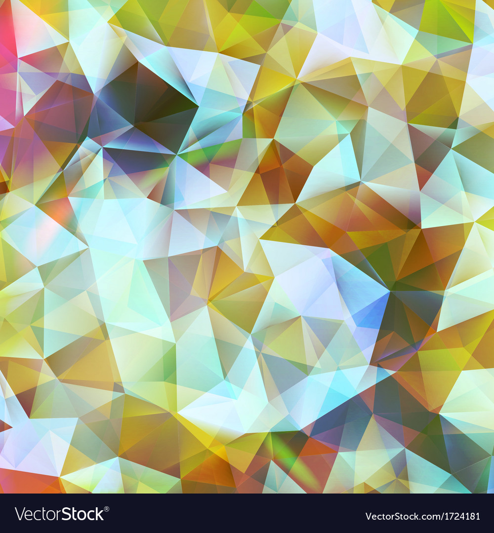 Geometric color background eps 10 vector | Price: 1 Credit (USD $1)
