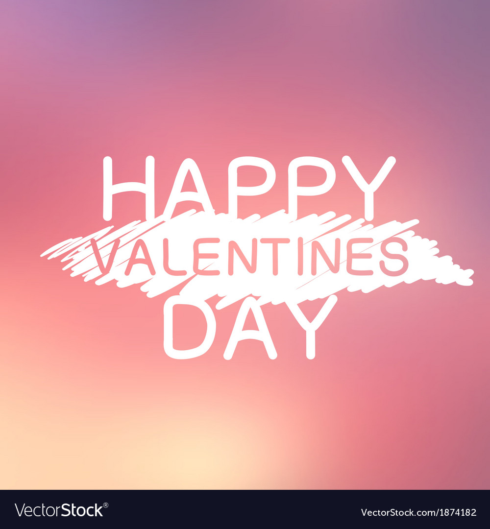 Abstract background with text for st valentines vector | Price: 1 Credit (USD $1)