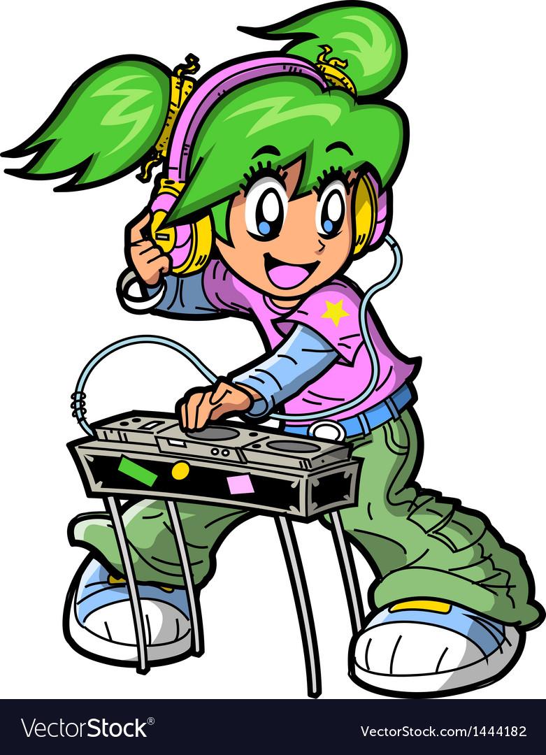 Anime manga dj vector | Price: 3 Credit (USD $3)