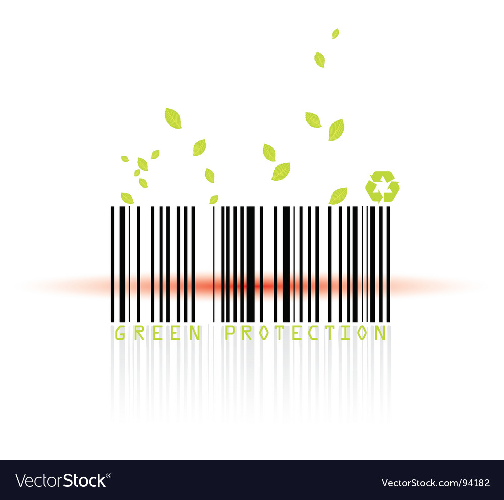 Barcode and beam vector | Price: 1 Credit (USD $1)