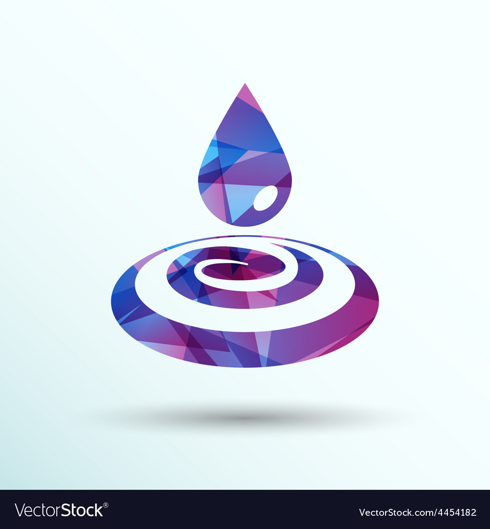 Drop cream white droplet paint water rain sweat vector | Price: 1 Credit (USD $1)