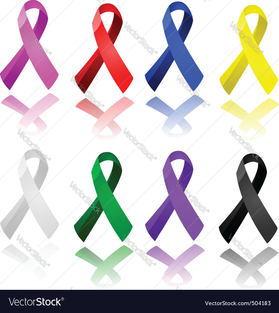 Awareness ribbons vector | Price: 1 Credit (USD $1)