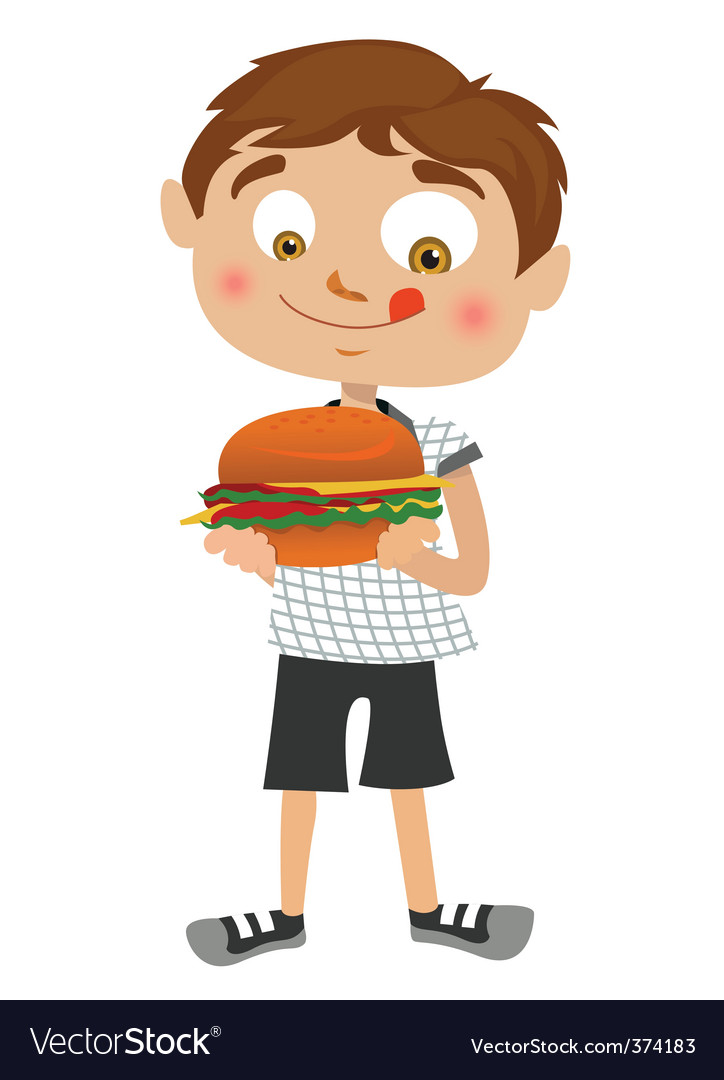Boy cartoon vector | Price: 1 Credit (USD $1)