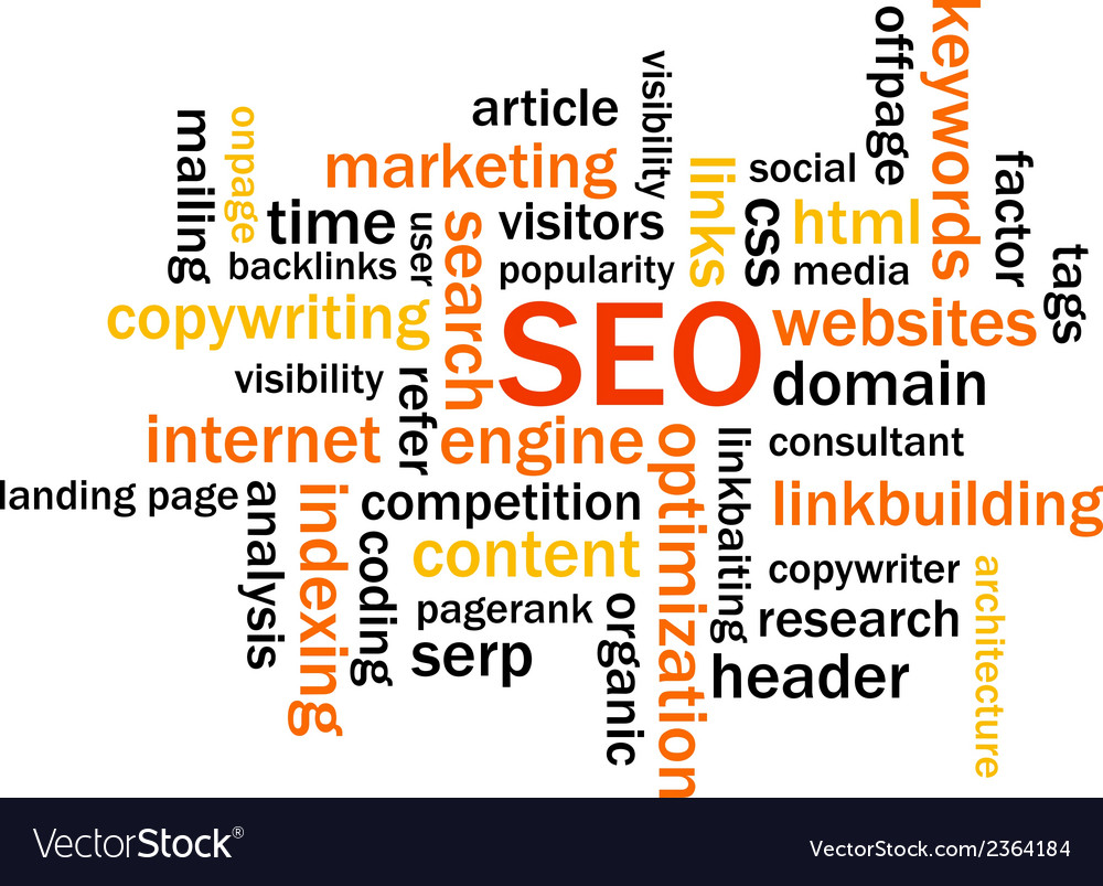 Search engine optimization abstract image vector | Price: 1 Credit (USD $1)