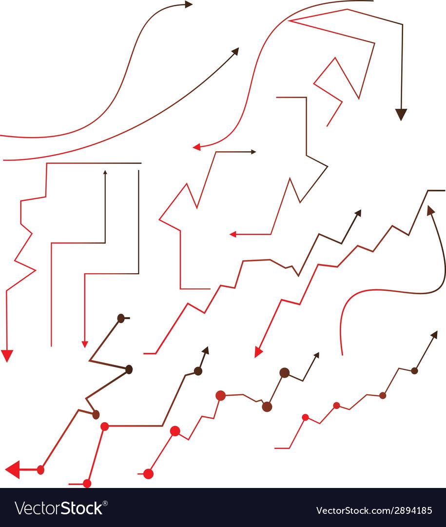 Business arrow vector | Price: 1 Credit (USD $1)