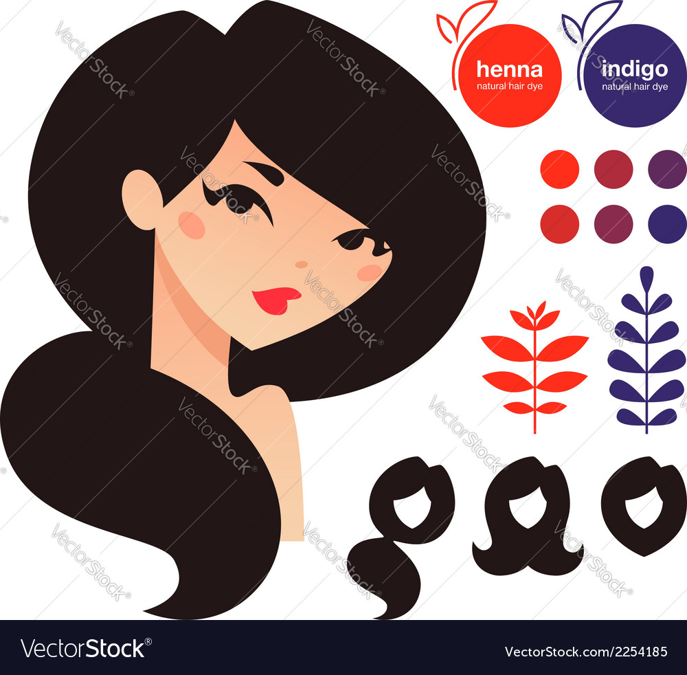 Natural dyes vector | Price: 1 Credit (USD $1)