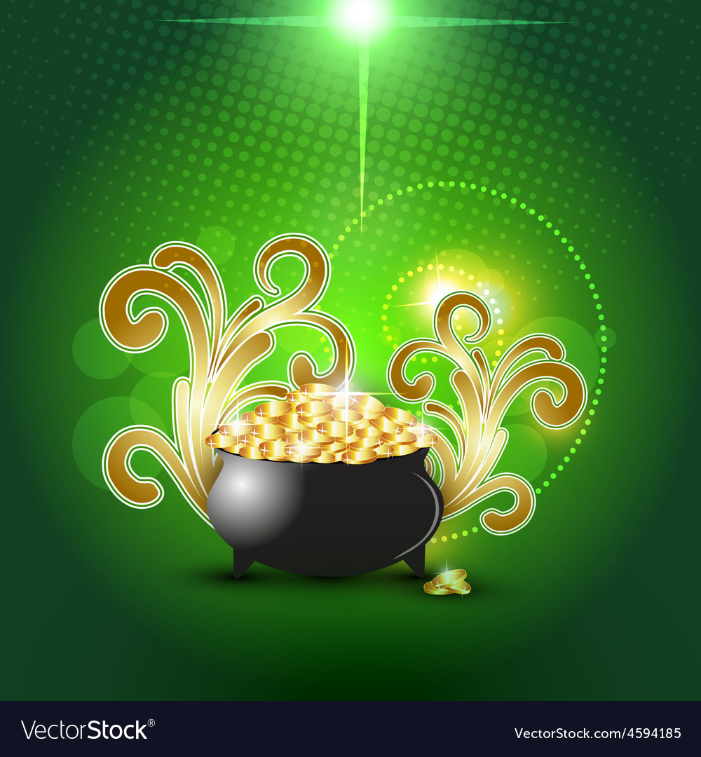 St patricks day vector | Price: 3 Credit (USD $3)