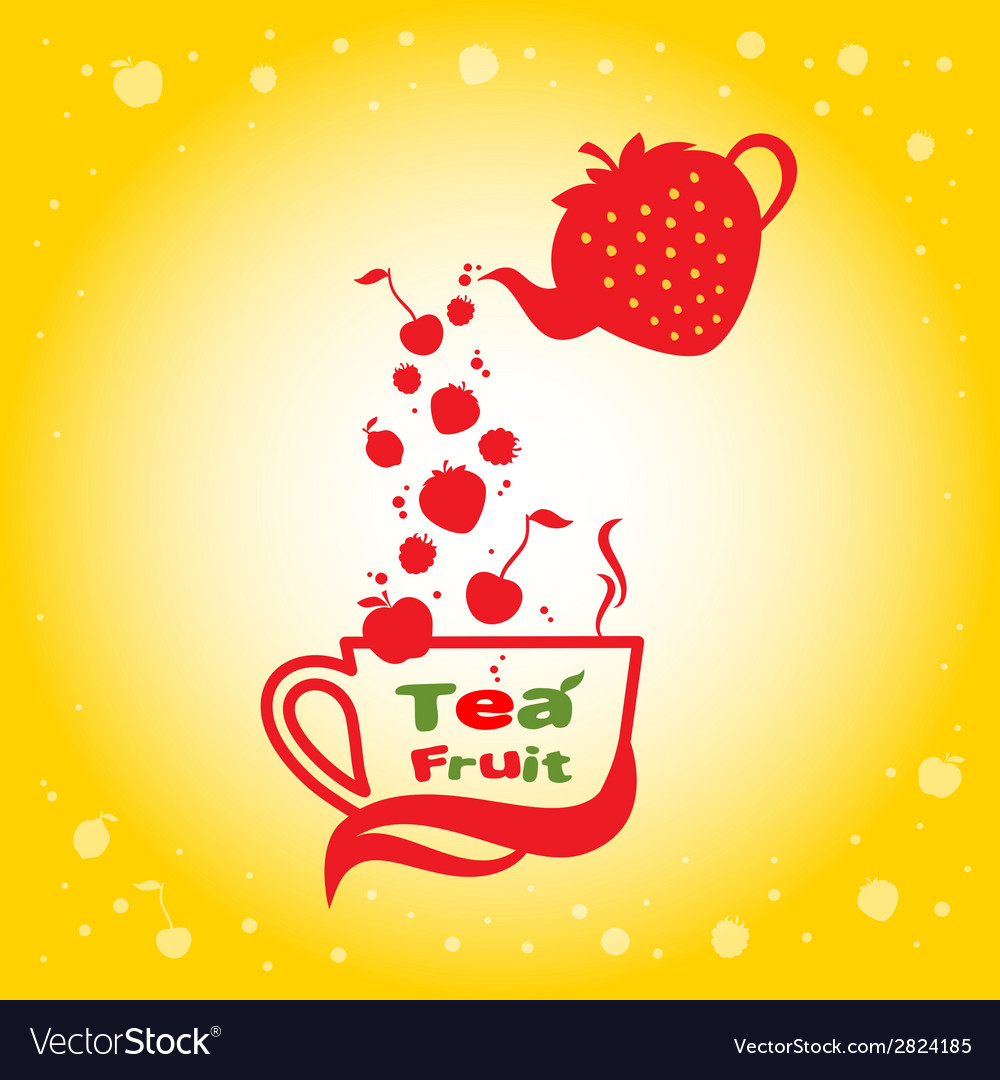 Tea fruit vector | Price: 1 Credit (USD $1)