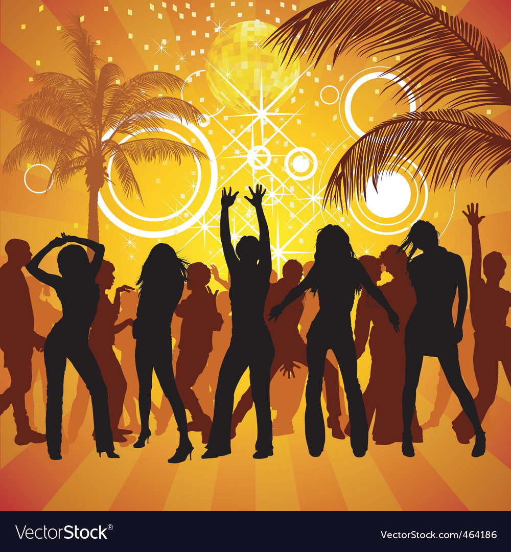 Exotic party vector | Price: 1 Credit (USD $1)