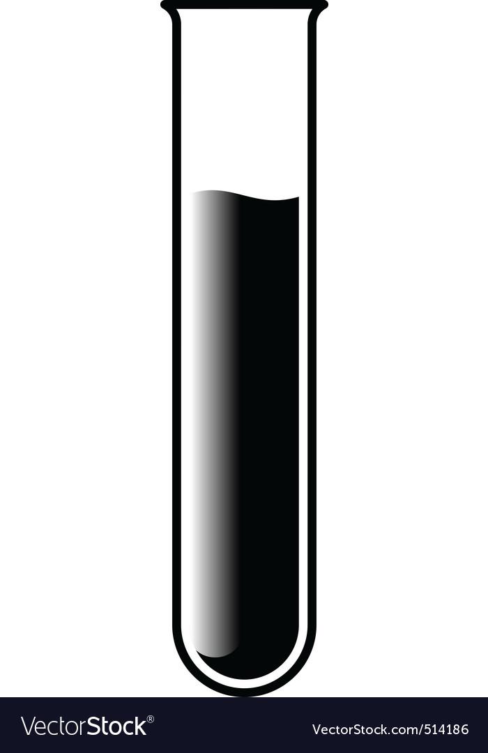 Test tube vector | Price: 1 Credit (USD $1)
