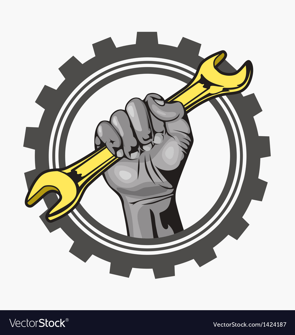 Hand logo vector | Price: 1 Credit (USD $1)