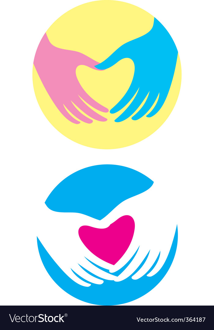 Heart symbol vector | Price: 1 Credit (USD $1)