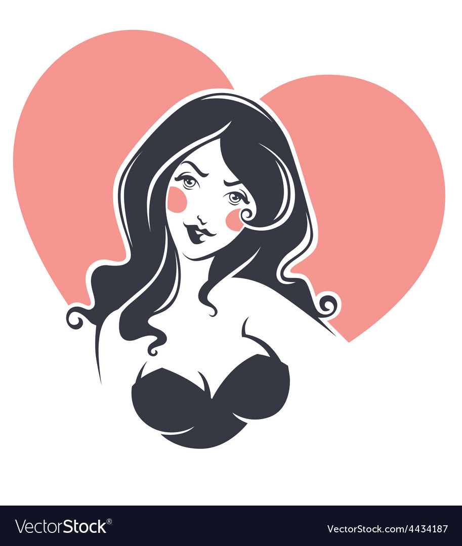 Lovely girl vector | Price: 1 Credit (USD $1)