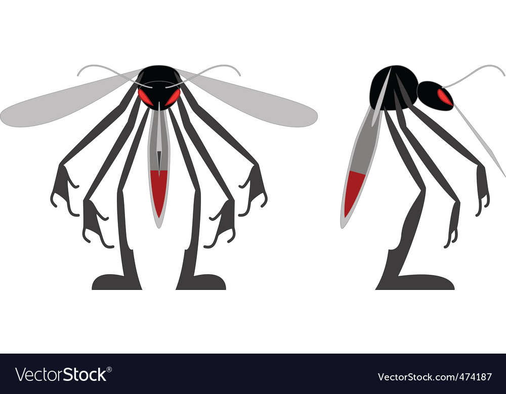 Mean mosquito vector | Price: 1 Credit (USD $1)