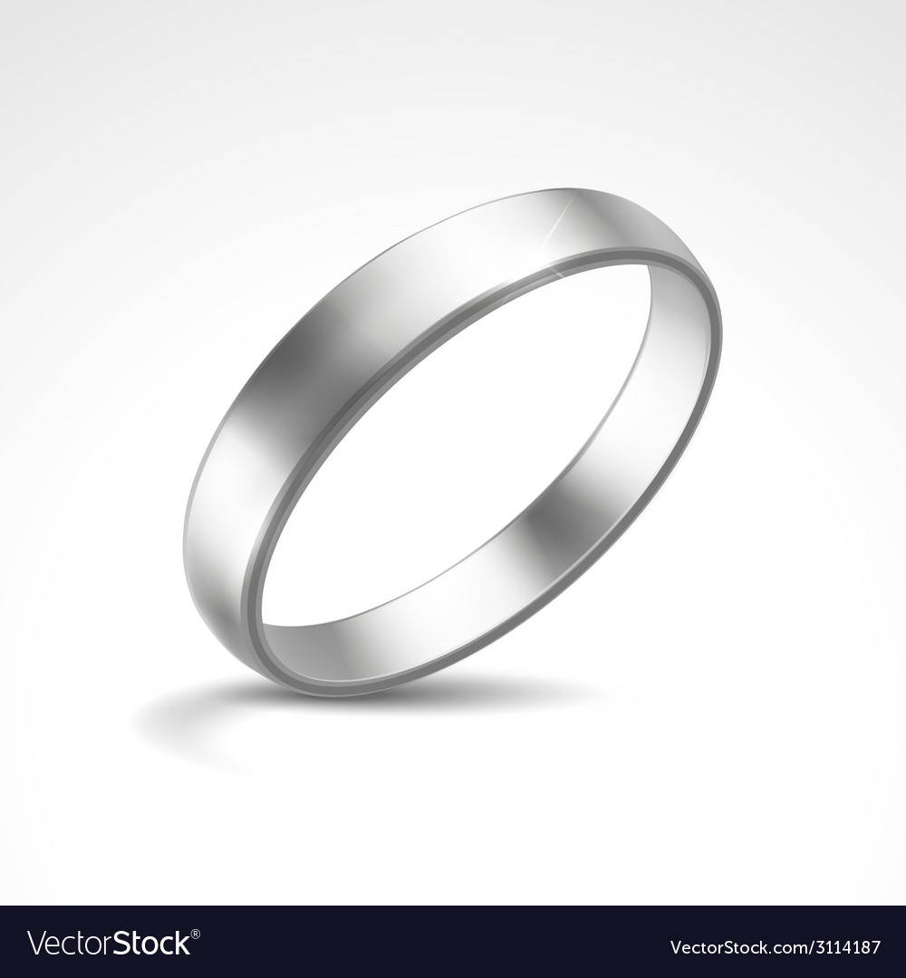 Silver ring vector | Price: 1 Credit (USD $1)