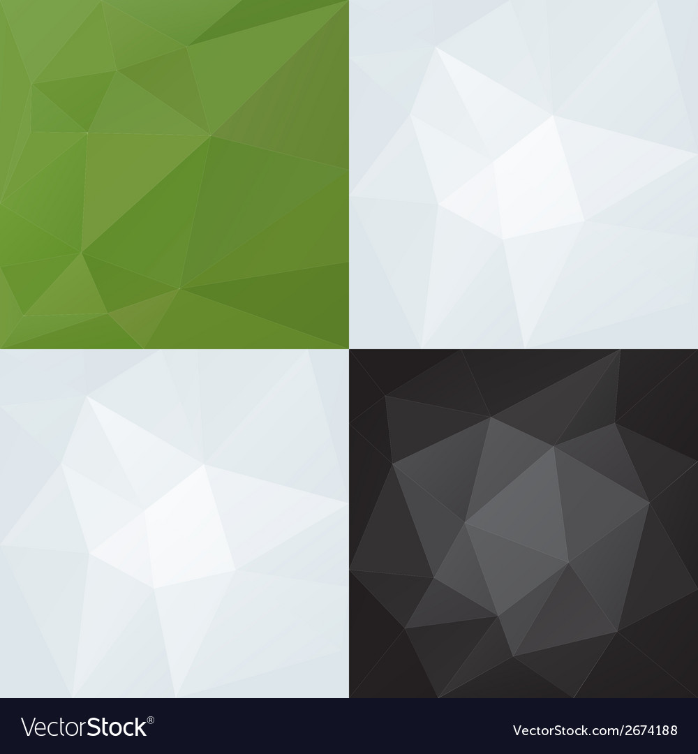 Abstract triangles color patterns eps10 vector | Price: 1 Credit (USD $1)