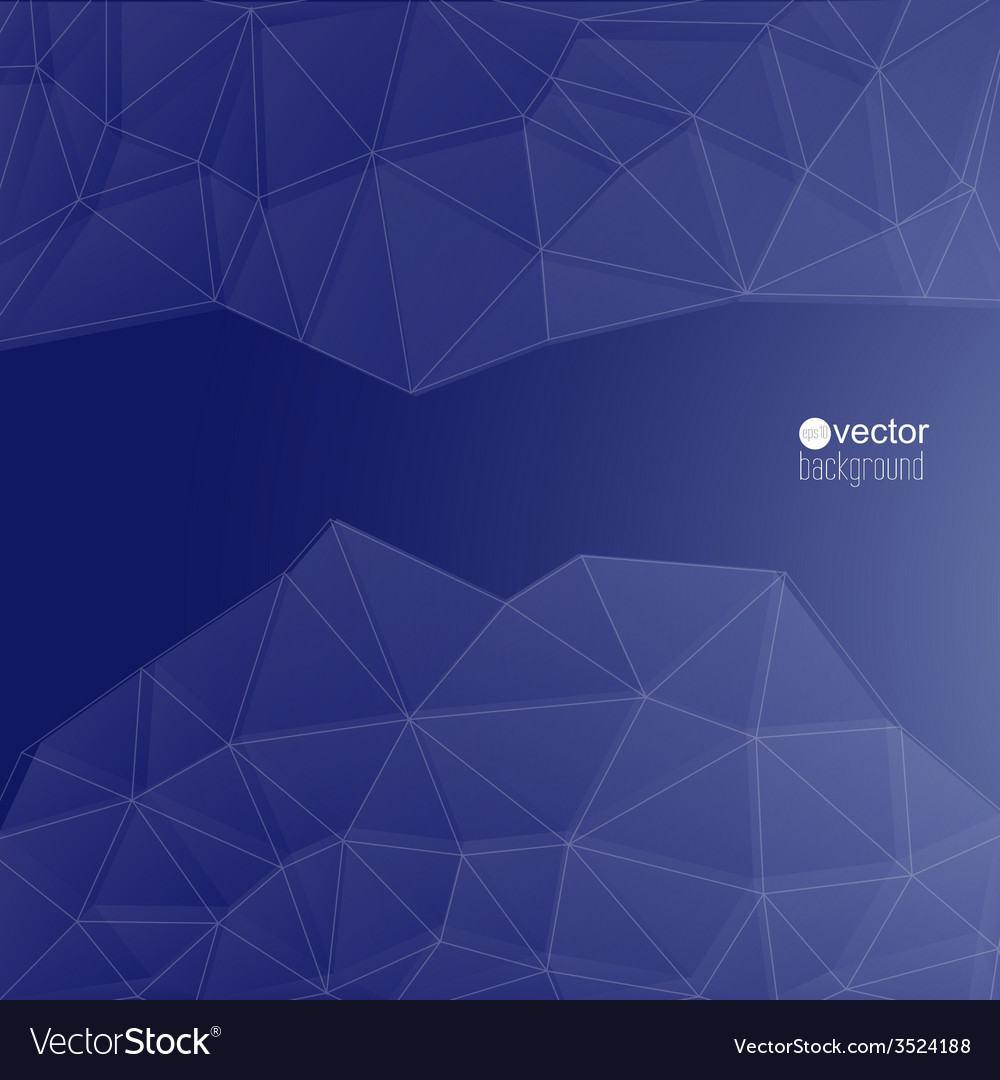 Blue abstract background with transparent mesh vector | Price: 1 Credit (USD $1)
