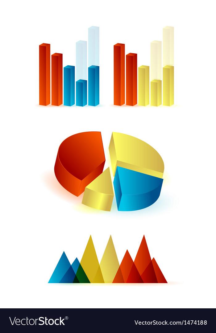 Diagrams vector | Price: 1 Credit (USD $1)