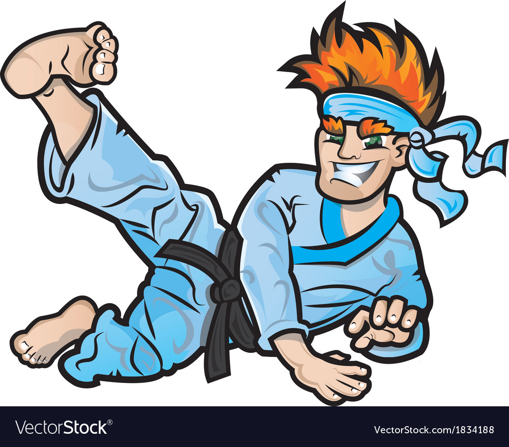 Karate kid vector | Price: 1 Credit (USD $1)