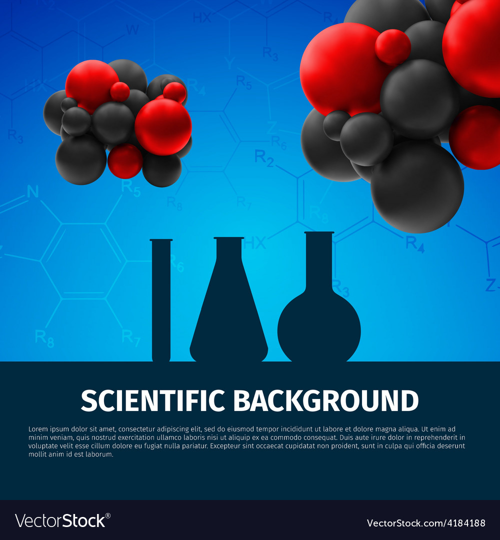 Scientific background vector | Price: 3 Credit (USD $3)
