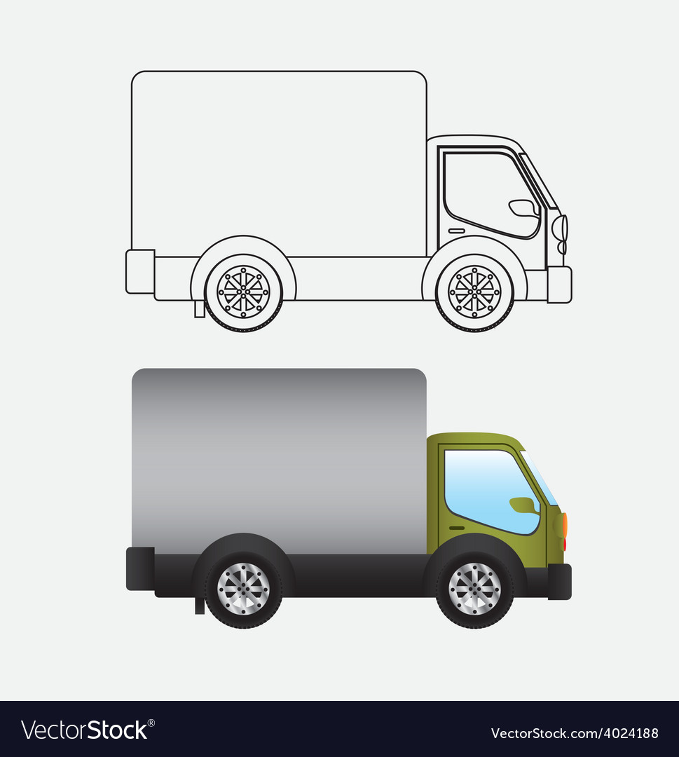 Transport desing vector | Price: 1 Credit (USD $1)