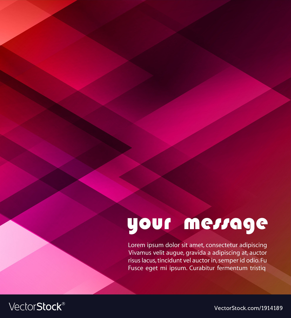 Abstract triangle background for your text vector | Price: 1 Credit (USD $1)