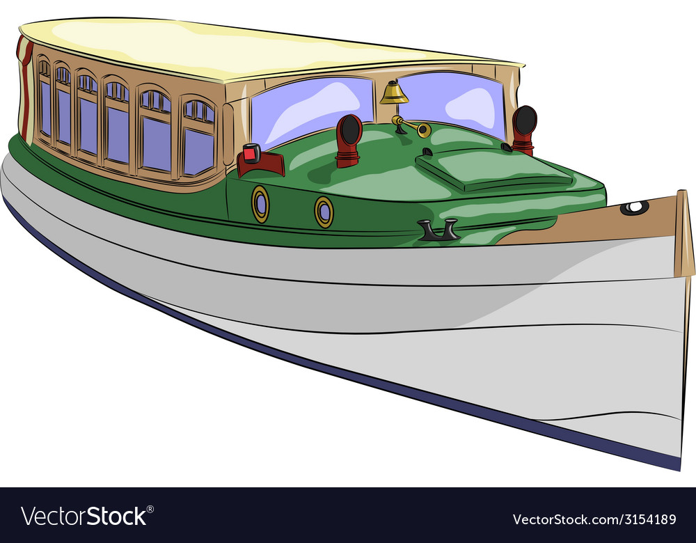 Boat a vector | Price: 1 Credit (USD $1)