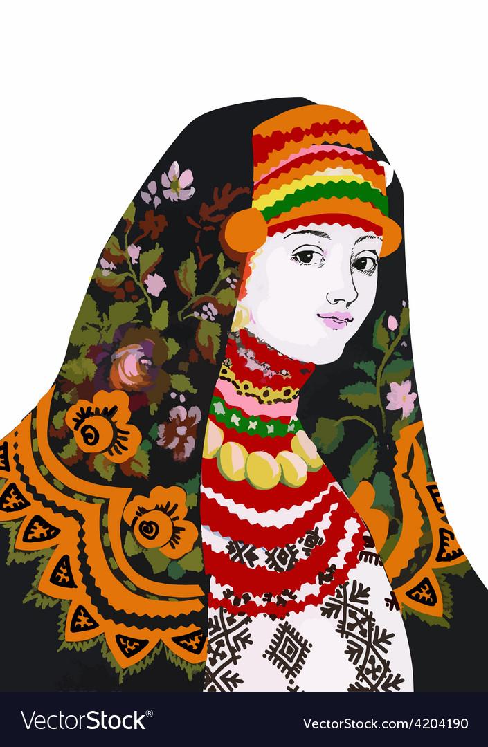 Artistic oriental dress design vector | Price: 1 Credit (USD $1)