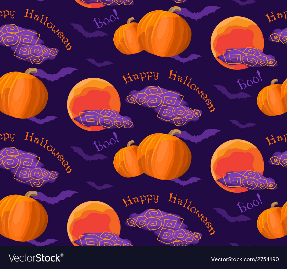 Halloween pattern vector   Price: 1 Credit (USD $1)