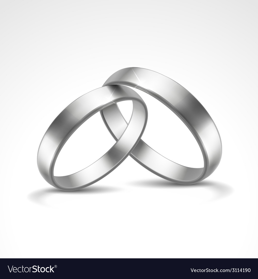 Silver rings vector | Price: 1 Credit (USD $1)