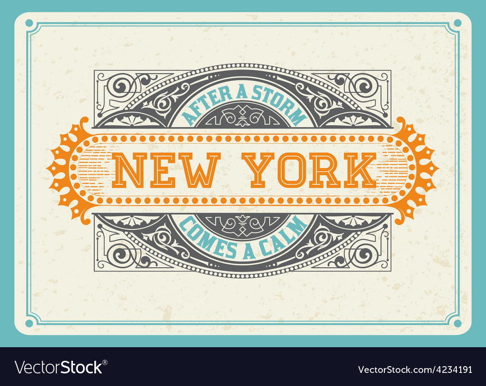 000 newyork design vector | Price: 1 Credit (USD $1)