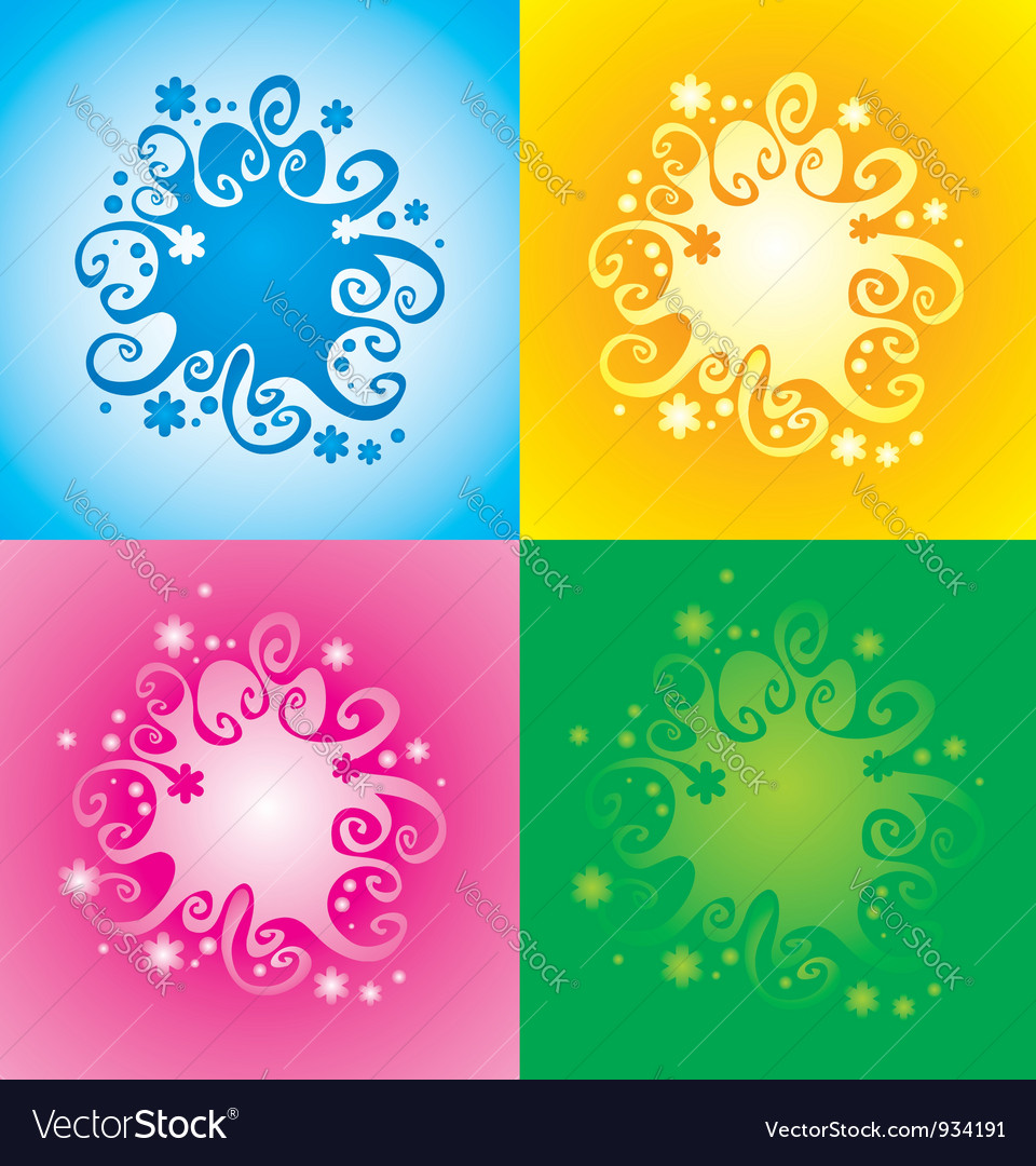 Pattern with original spiral structure vector | Price: 1 Credit (USD $1)