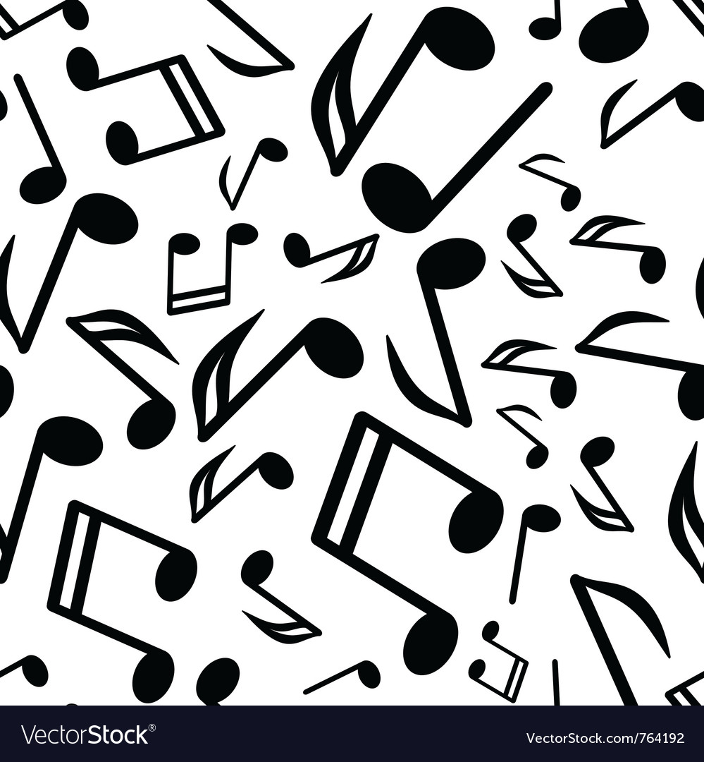 Notes seamless background vector | Price: 1 Credit (USD $1)