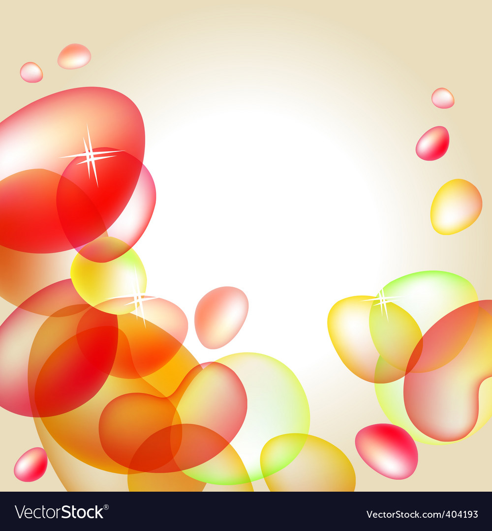 Abstract bright orange background vector | Price: 1 Credit (USD $1)
