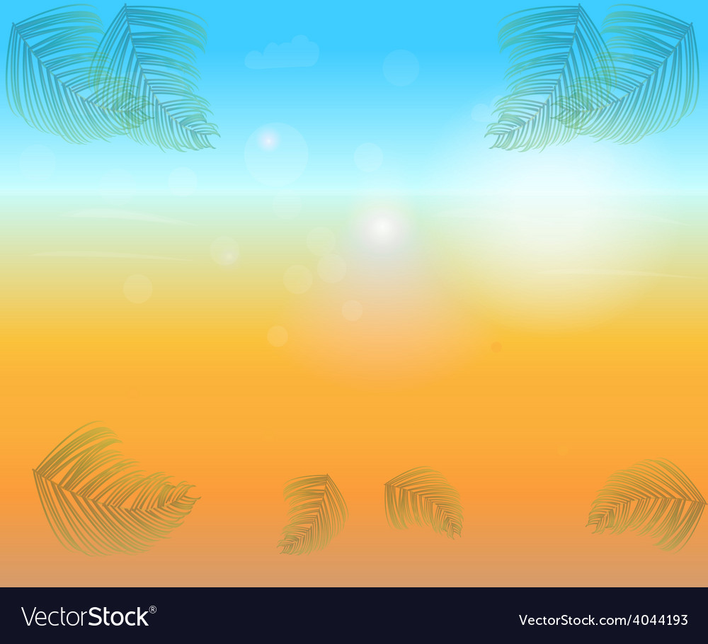 Abstract bright sunny background vector | Price: 1 Credit (USD $1)