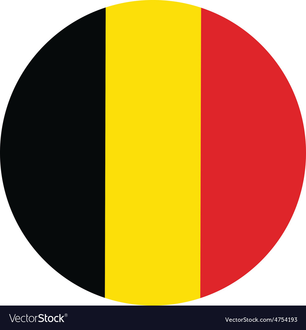 Belgium flag vector | Price: 1 Credit (USD $1)