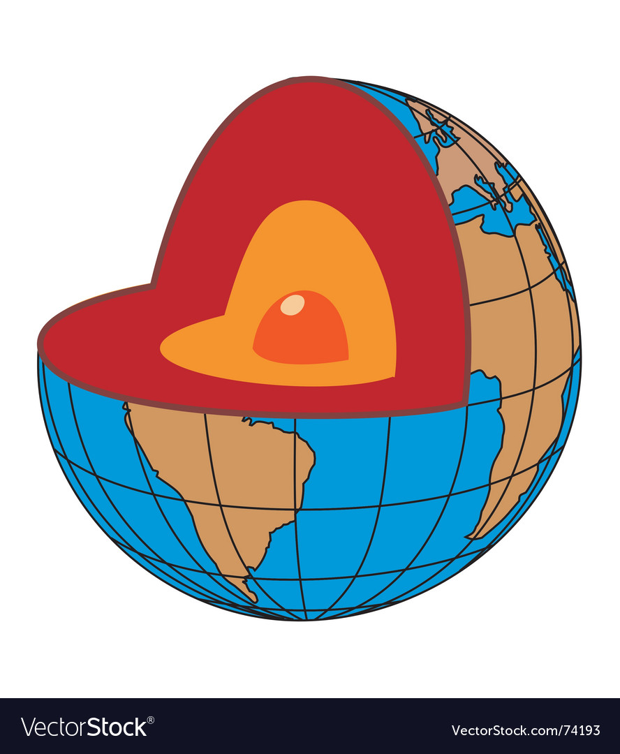 Earth core vector | Price: 1 Credit (USD $1)