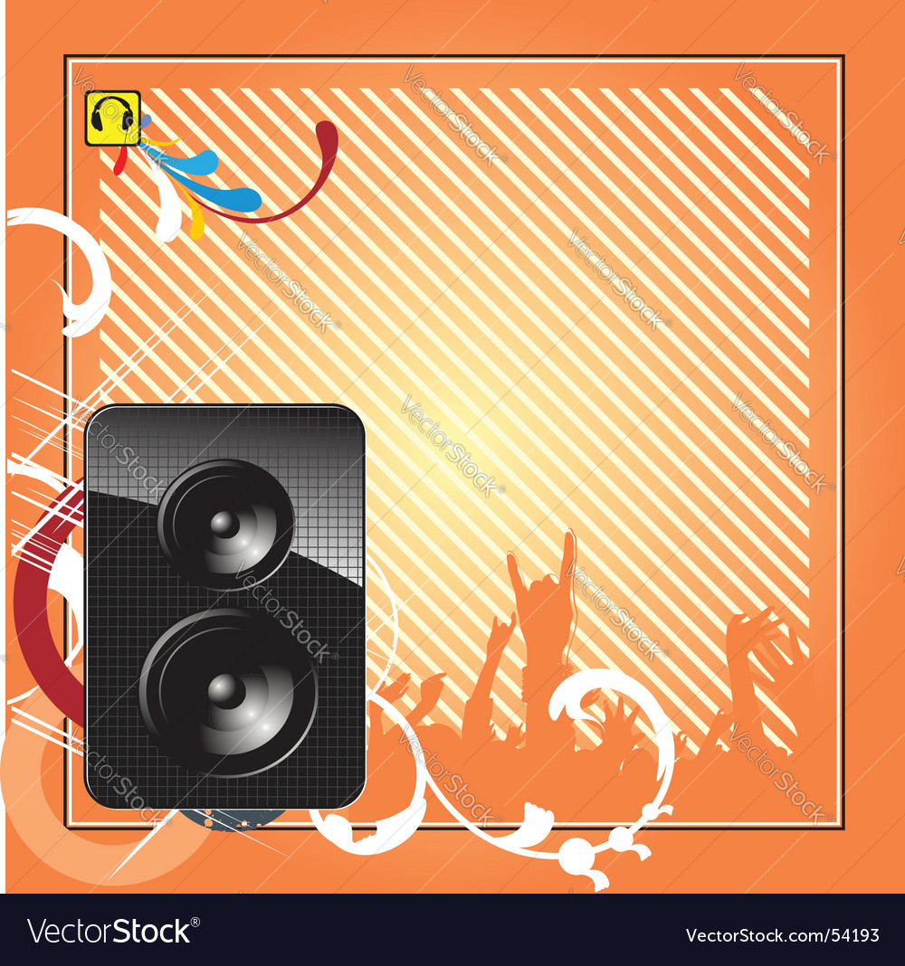 Musical design vector | Price: 1 Credit (USD $1)