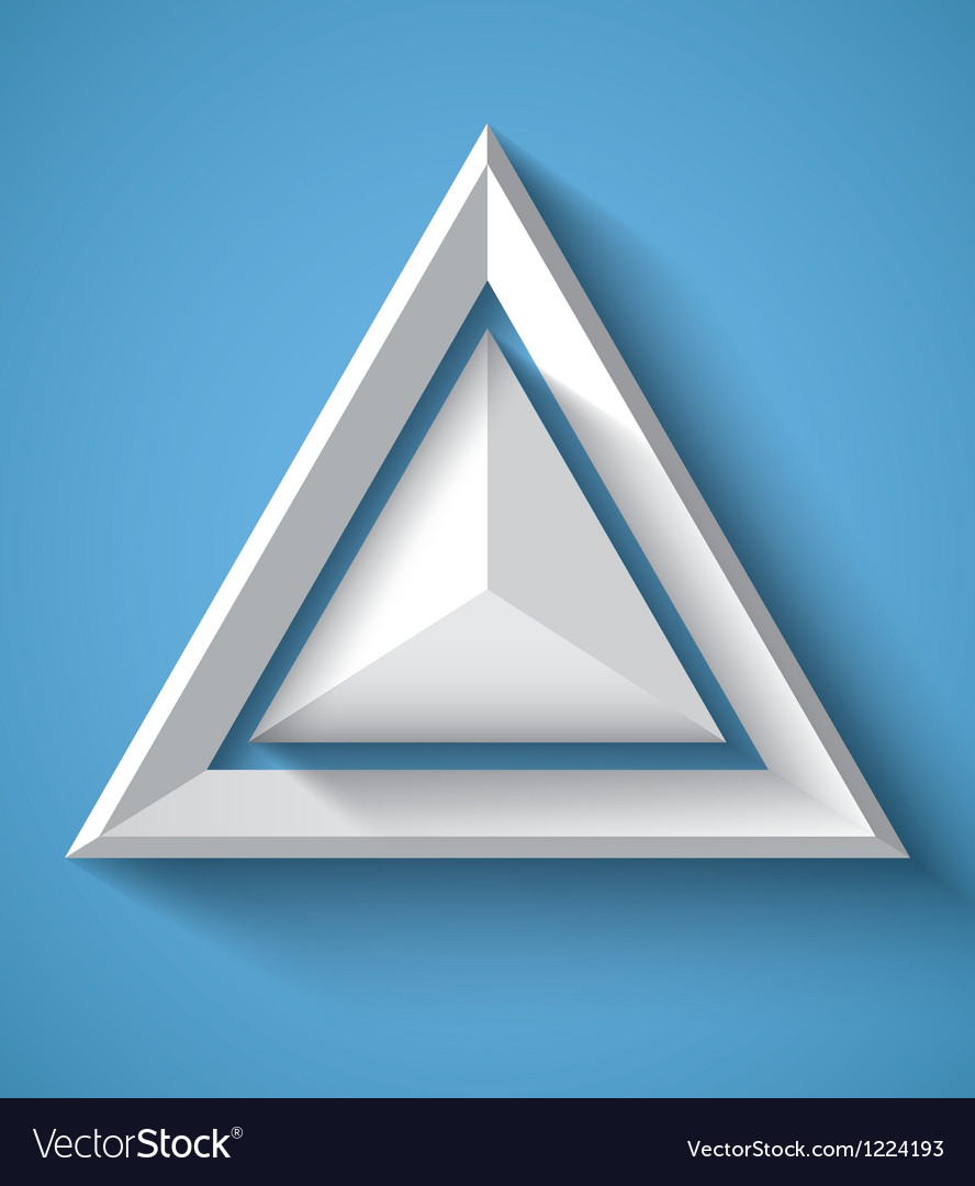 Realistic geometrical background with triangle vector | Price: 1 Credit (USD $1)