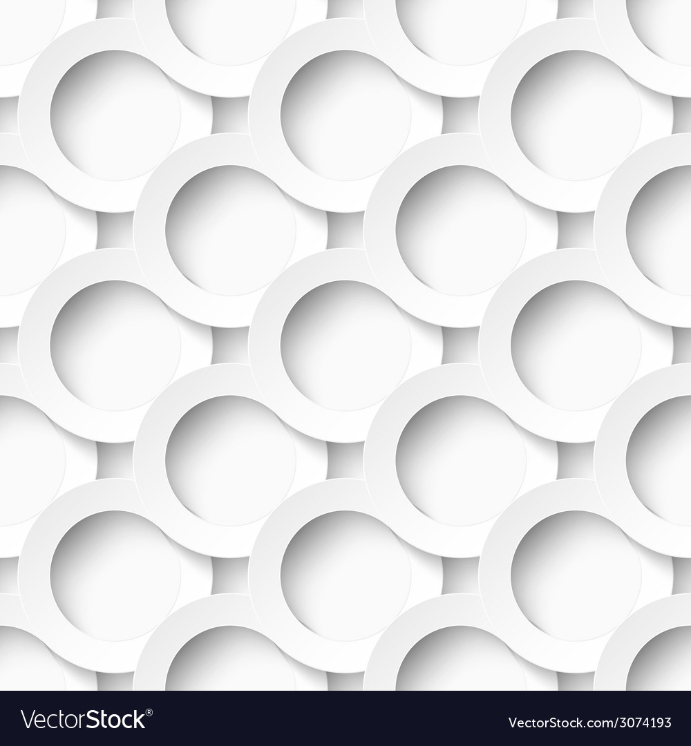 White circles with drop shadows vector | Price: 1 Credit (USD $1)